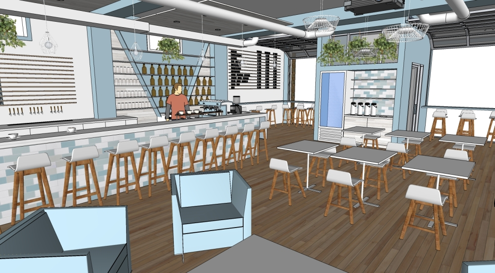 tap room concept image