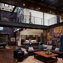 Palmer House - living
